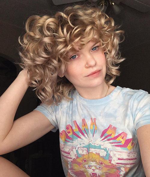 Medium Haircuts For Curly Hair