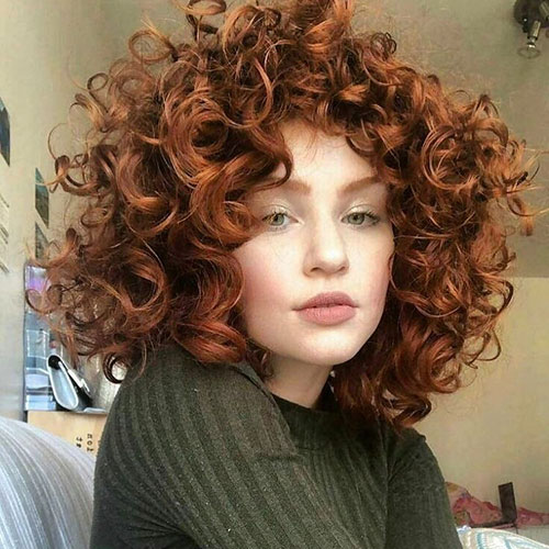 Medium Curly Haircuts