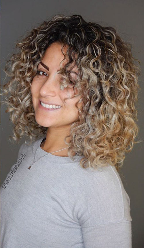 Haircuts For Medium Curly Hair
