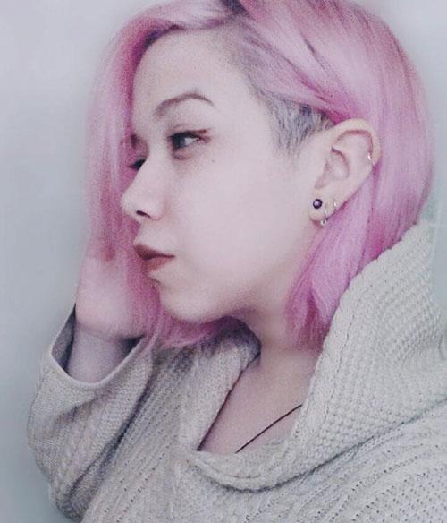 Medium Hair Undercut