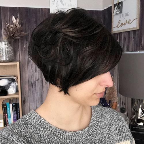 Dark Medium Hair