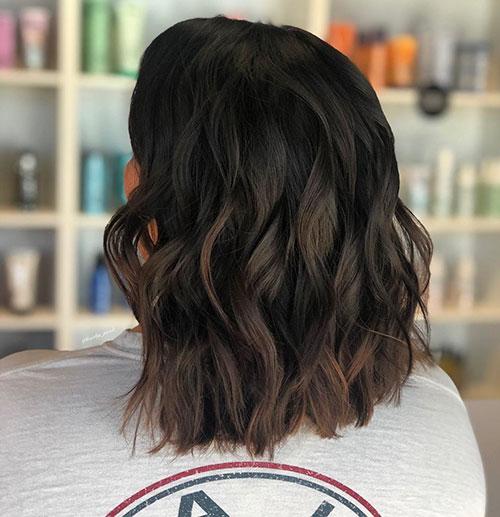Medium Dark Hair