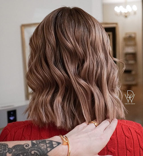 Medium Cool Brown Hair