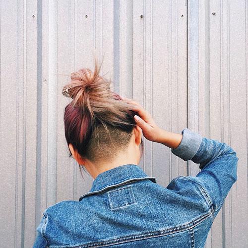 Medium Undercut Hairstyle