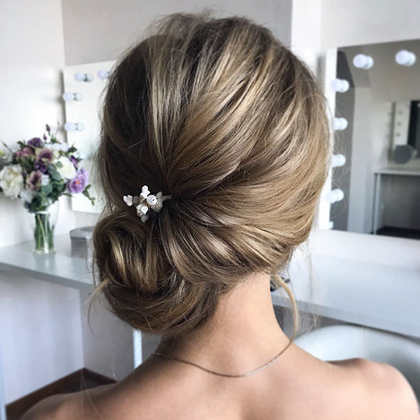 Medium Hair Updo Hairstyles