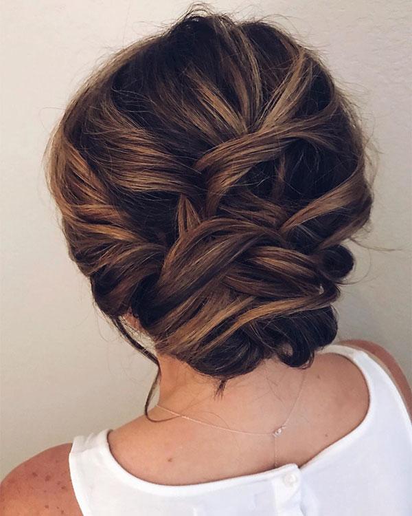 Medium Updo Hair Pictures