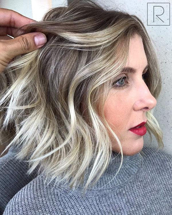 Medium Choppy Hairstyles For Women