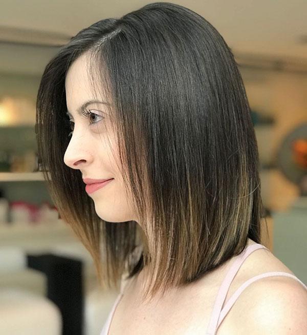 Best Straight Medium Haircuts