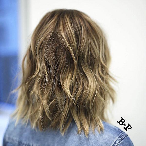 Medium Haircuts For Choppy Hair