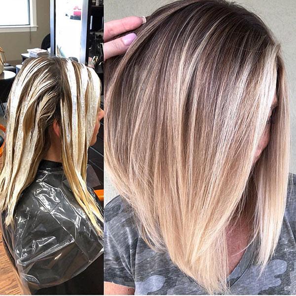 Medium Straight Hair For Women