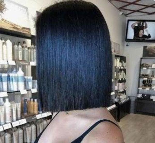 Medium Straight Hairtyles