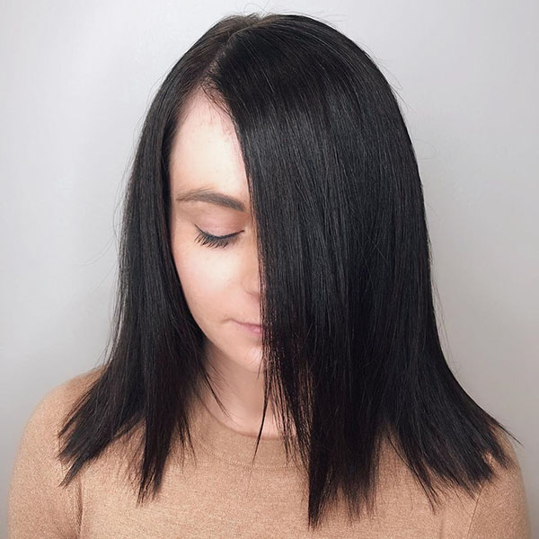 Straight Medium Hairstyles