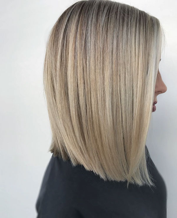 25+ Best Hairstyles for Medium Straight Hair in 2020 - The Best Medium Hairstyles Ideas 2020