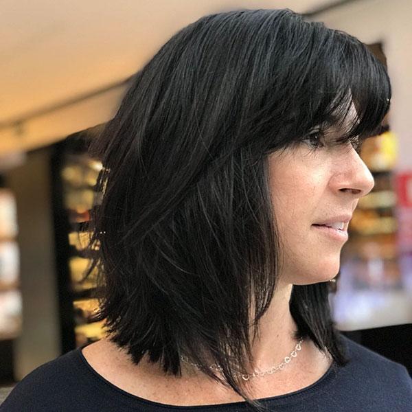 Medium Layered Haircuts 2020