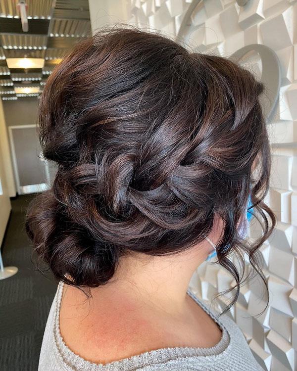 Hairstyles For Bridesmaid Medium Hair