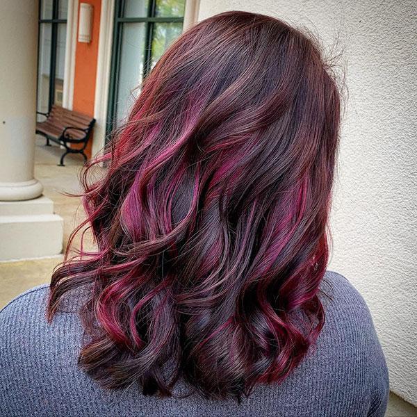 Medium And Wavy Hair