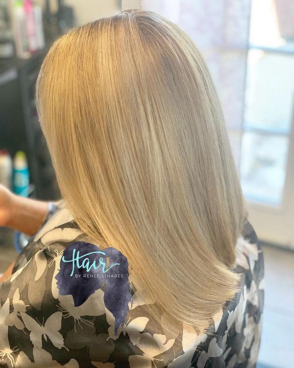 Medium Hair Color Images