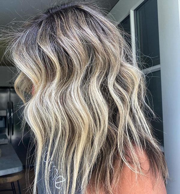 Medium Hair Color