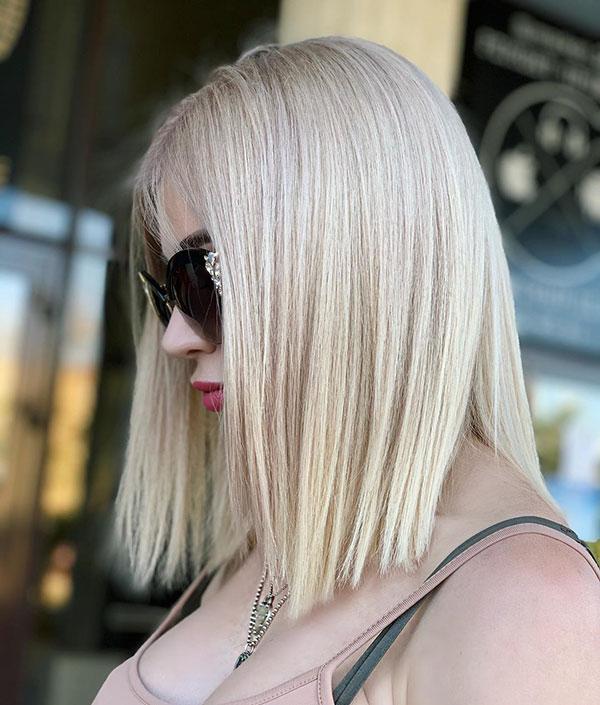 Medium Length Business Professional Hairstyles