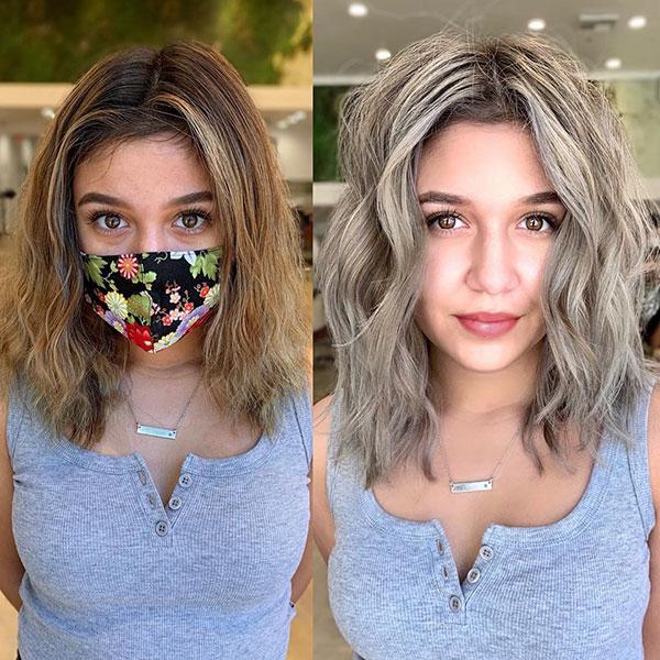 Medium Hair Color Hairstyles
