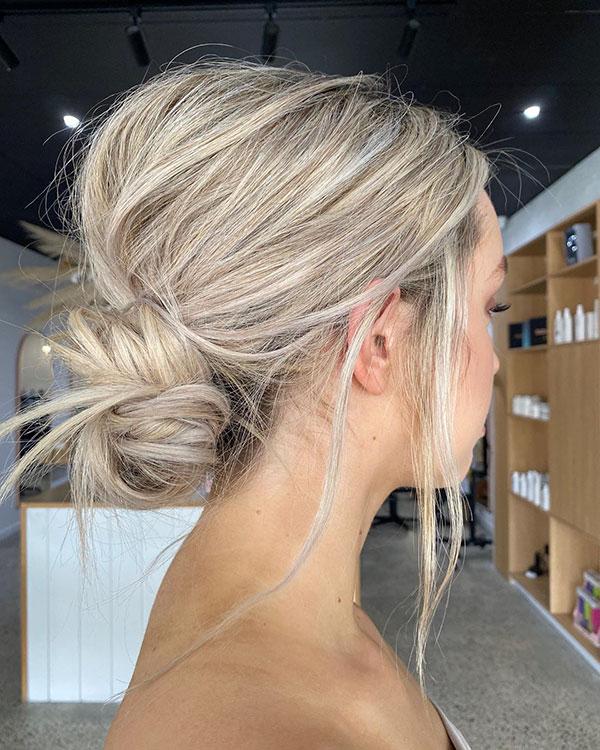 Medium Bridesmaid Hair Ideas