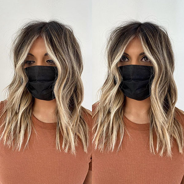 Medium Haircut Images