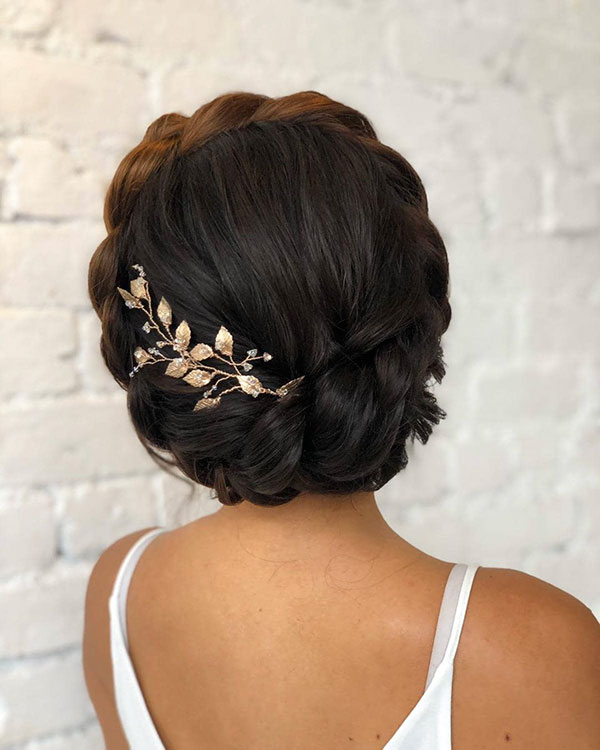 Pictures Of Medium Bridesmaid Hairstyles