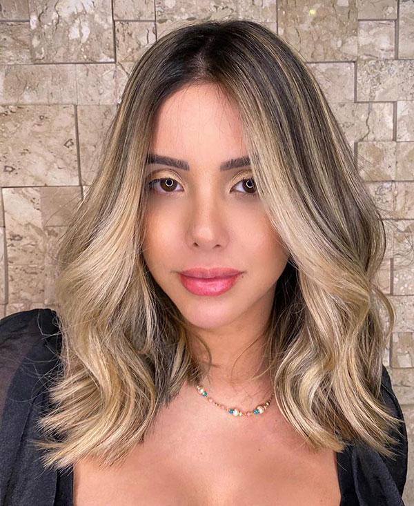 Medium Blonde Hair 2020