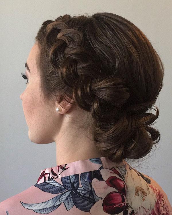 Medium Bridesmaid Hairstyles
