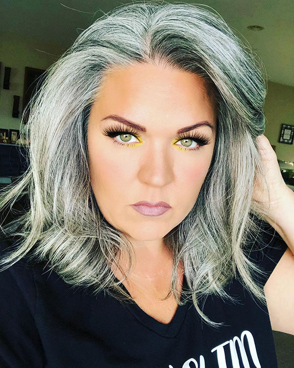 Cool Medium Hair For Over 40