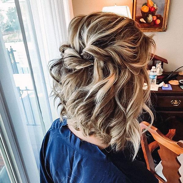 Bridesmaid Hairdos For Medium Hair