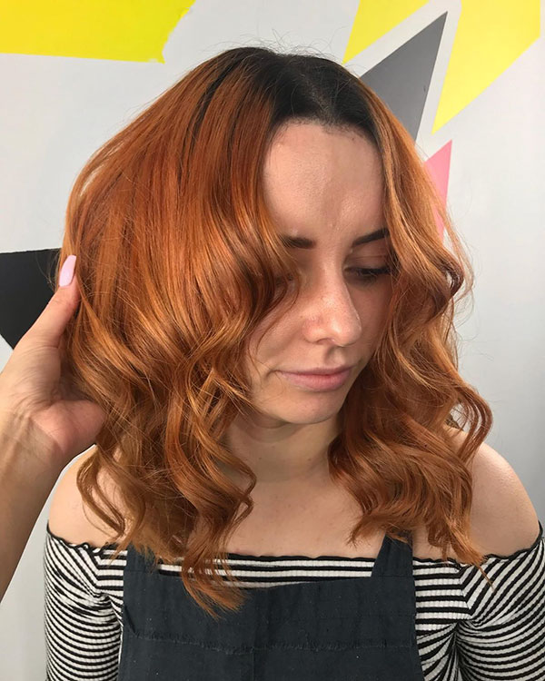 Images Of Medium Red Hair