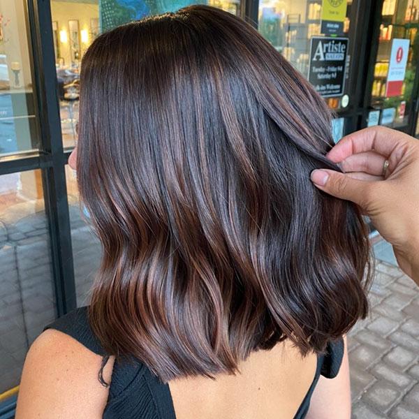 Medium Chocolate Hair
