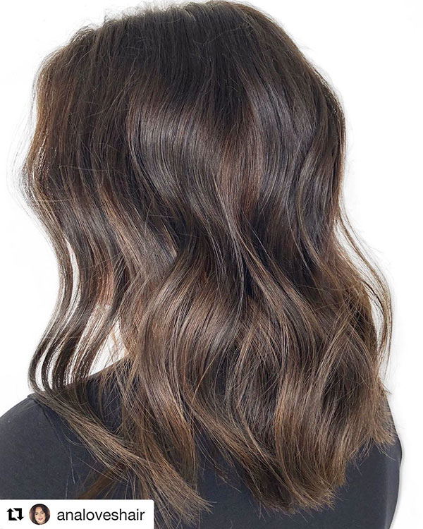 Images Of Medium Chocolate Hair