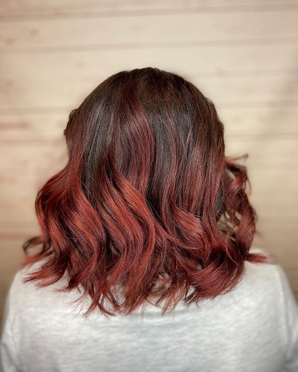 Pictures Of Medium Ombre Hair