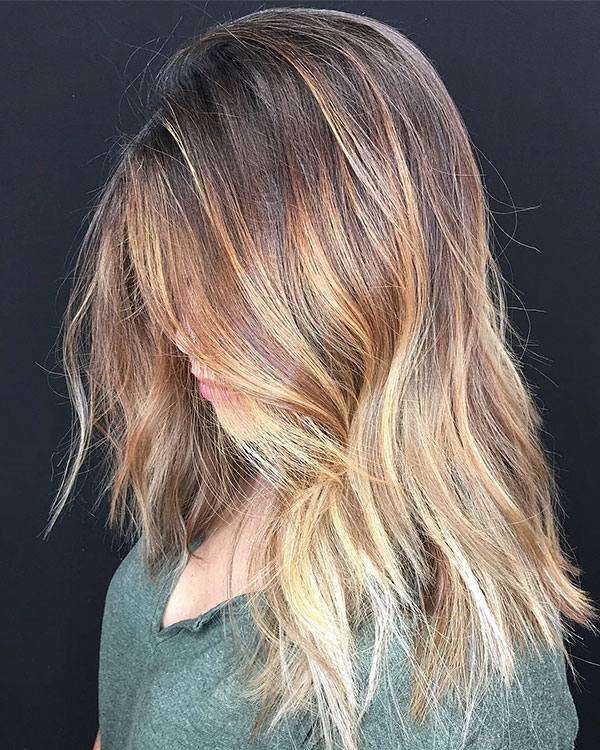 Medium Choppy Hairstyles