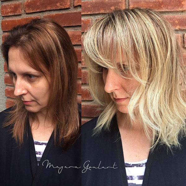 Medium Choppy Haircuts