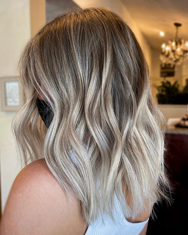 Medium Ombre Hair 2020