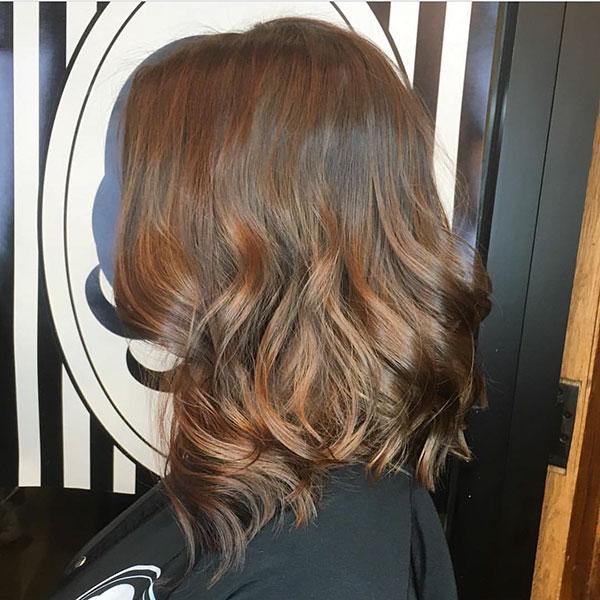 Womens Medium Wavy Hairstyles