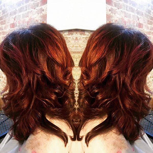 Medium Red Haircut Ideas