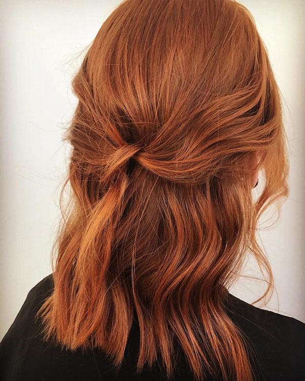Newest Medium Red Hairstyles