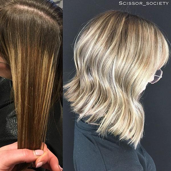 Hairstyles For Sharp Medium Hair