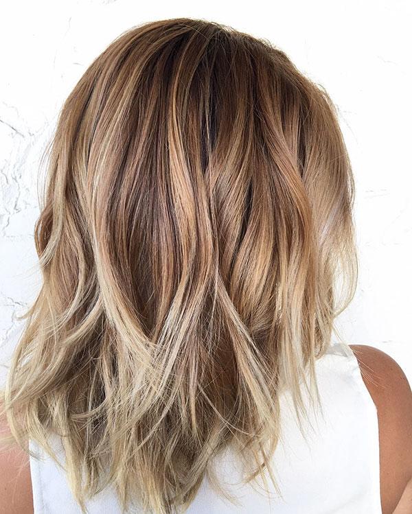 Medium Choppy Hairstyles 2020