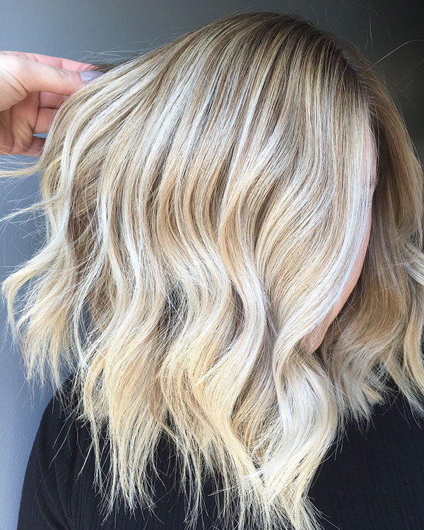 Wavy Hair Pictures For Medium Hair