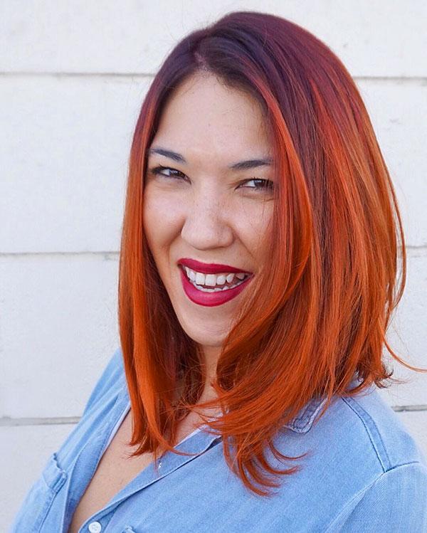 Medium Red Hairstyles 2020