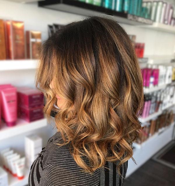 Medium Wavy Hair Images