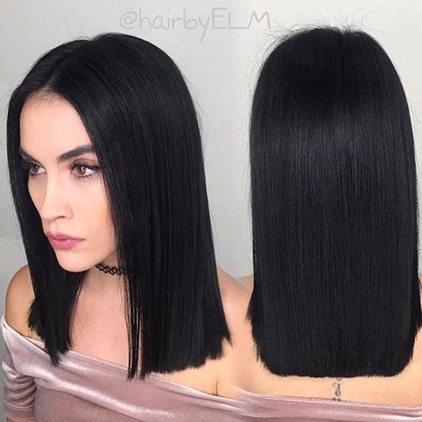 Sharp Medium Hairstyles