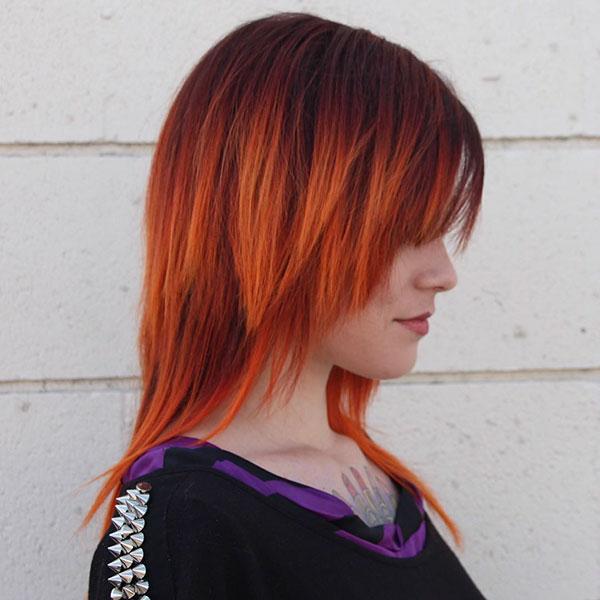 Medium Red Hair Color