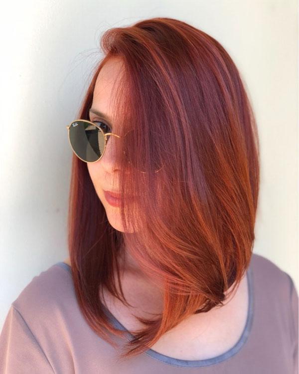 Medium Red Haircuts
