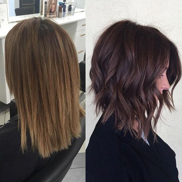 Pictures Of Medium Chocolate Hair
